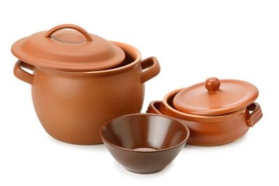 Clay stoneware cookware